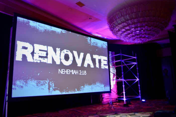 Renovate Presentation screen
