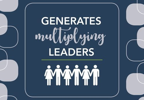 generates multiplying leaders